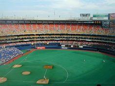 Three Rivers Stadium (where the Pittsburg Pirates played)