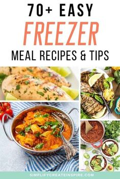 Pre Prepared Meals, Pre Cooked Meals, Pre Made Meals, No Cook Meals, Freezable Meals, Make Ahead Freezer Meals, Dump Meals, Freezer Cooking, Cooking Recipes
