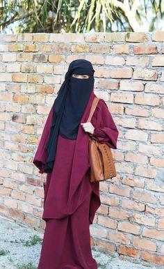 Hijab Niqab, Hijab Outfit, Abaya Pattern, Niqab Fashion, Hijab Cartoon, Face Veil, Beautiful Muslim Women, Wedding Hijab, Secret Life