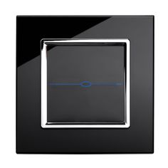 http://mosslounge.com/modern-light-switches-to-turn-of-the-lights/ Modern Light Switches To Turn Of The Lights : Retrotouch 1 Gang Touch Light Switch Black