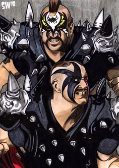 WWE Tag Team Legends Hawk & Animal the Legion of Doom also known as The Road Warriors Wrestling Stars, Wrestling Wwe, The Road Warriors, Wwe Wallpapers, Hd Wallpaper, Wrestling Superstars, Professional Wrestling, Wwe Wrestlers, Iron Gates