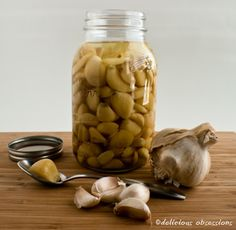 Fermented garlic is another way to eat more probiotic foods!  Thought I'm not sure how I feel about it...