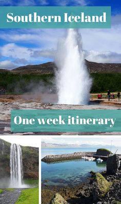 This week long southern Iceland itinerary will take you to the glacier lagoon, numerous waterfalls, lava fields, geysers and volcano views. All magical!