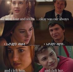 ImageFind images and videos about the books are better, divergent and tfios on We Heart It - the app to get lost in what you love.