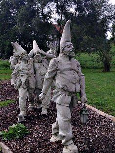 The Seven Dwarfs, Photo by Terri Marshall, Globetrotting TravelingGrandmom