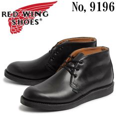RED WING 9196 POSTMAN CHUKKA
