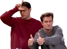Chandler Bing Joey Tribbiani Friends by knowyourrights