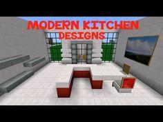 Minecraft Modern House Ep 2  Minecraft  Pinterest  Minecraft Beauteous Minecraft Modern Kitchen Designs Design Ideas