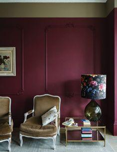 Revamp Your Home Interior Decor With Farrow & Ball 9 New Paint Colors Farrow And Ball Paint, Farrow Ball, Farrow And Ball Living Room, New Paint Colors, Wall Colors, Paint Brands, Living Room Decor, Sweet Home, Interior Design