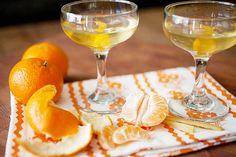 #French, #ginger, #martini, #Grand Marnier, #orange