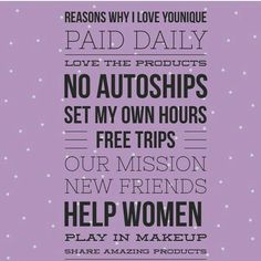benefits of being a younique presenter i love it and i m really