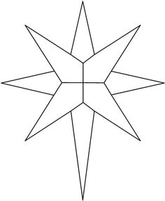 Stained Glass - Star