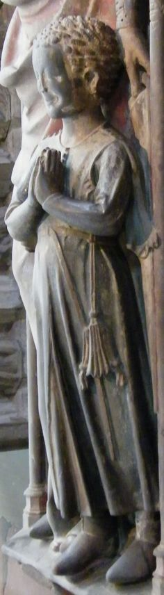 Son of Adelheid von Braunschweig, died 1274, and Germany Marburg http://www.themcs.org/costume/Male/Germany%20Marburg%20-%20Elisabethkirche%20Adelheid%20von%20Braunschweig%20died%201274%20and%20son%20effigy%201280%2019.JPG