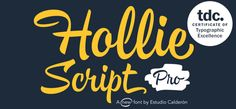 Hollie Script Pro - fresh, free and authentic