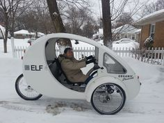 Sophie and Linda Go for  Ride, ELF Organic Transit.