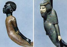 Tutankamun's walking canes.