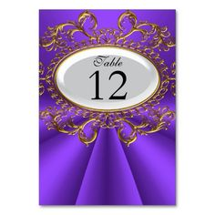 Table Number Cards Royal Purple White Gold Table Card Yes I can say you are on right site we just collected best shopping store that haveReview          Table Number Cards Royal Purple White Gold Table Card please follow the link to see fully reviews...
