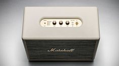 The #MarshallWoburn wireless stereo #speaker was designed with loud in mind.
