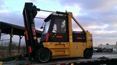 "#usedforklifts: #diesel Taylor Forklift For Sale:      SKU: 25192      YEAR: 2005      MAKE: Taylor      MODEL: TC0400L      SN: S F5 33265      MAST: 114/96      CAPACITY: 40K @ 30"" L.C.      ENGINE: Cummins Diesel      ATTACHMENT: 66"" Coil Ram      HOURS: 12,521"