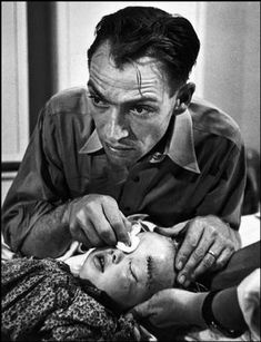 photo; W. Eugene Smith part of Life magazine photo essay of rural doctor in Colorado.