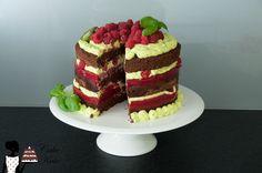 Himbeer-Basilikum-Torte