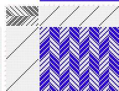 draft image: 16185, 2500 Armature - Intreccio Per Tessuti Di Lana, Cotone, Rayon, Seta - Eugenio Poma, 16S, 26T