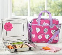 Mackenzie Pink Kitty All-in-One Lunch Bag #pbkids