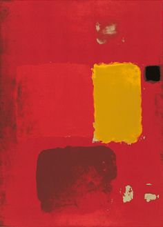 Cadmium Painting (Silkscreen print) by Patrick Heron - art print from King & McGaw Painting Collage, Blue Painting, Painting Gallery, Paintings, Framed Artwork, Framed Art Prints, Patrick Heron, Silk Screen Printing, Find Art