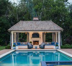 25 Exotic Pool Cabana Ideas (Design & Decor Pictures ... on Cabana Designs Ideas id=11213