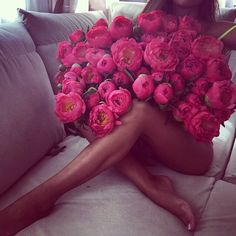 Bouquet of flowers! My Flower, Pretty In Pink, Beautiful Flowers, Flower Bomb, Perfect Pink, Beautiful Legs, Girls Run The World, Girly Things, Beautiful Things