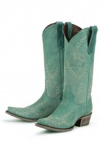 Lane Boots Ashlee Lace Tuquoise Cowboy Boots    These, I would wear.