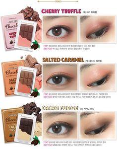 Etude House Give Me Chocolate eyeshadow palettes