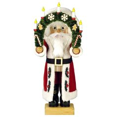 Christian Ulbricht Limited Edition Arch Wreath Santa Nutcracker