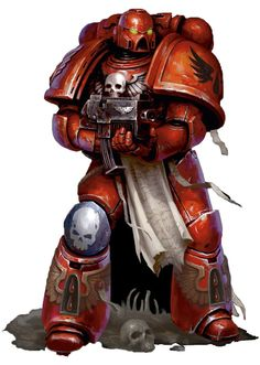 Warhammer 40k art work