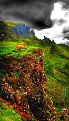 """Isle of Skye, Scotland ..."