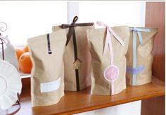 Vegetal Standup dom sacos de papel ofício / alimentos / sacos de papel sacos de papel de pão 50 pçs/lote 11 * 18.5 + 3 cm em Bolsas de acondicionamento de Indústria e Ciência no AliExpress.com | Alibaba Group