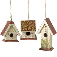 I pinned this Birdhouse Ornament from the Trim the Tree event at Joss and Main! Would be fun to make.