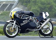 Manx Cat Motosport: DUCATI PANTAH 750 F1 RACER