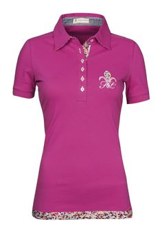 FIOR DA LISO SPORTY POLO SHIRT Riding Clothing available at Exclusively Equestrian