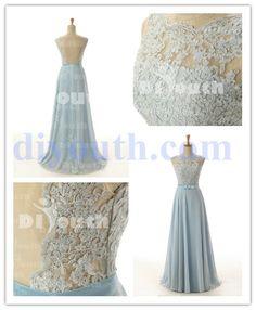 prom dress prom dresses long 2014 sky blue