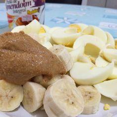 Cafezão; 8 claras  1 banana  1cs da @pastamandubim  by rafaelfitlifebr