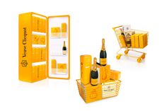 Merchandising - Fridge - Champagne Veuve Clicquot