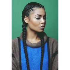 Asia Dee braids corn rows French braids Hair