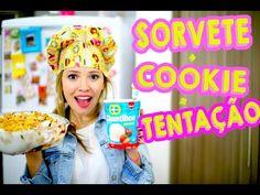 SORVETE+ COOKIE= TENTAÇÃO |Pavê de sorvete Chantibon #DesafioÉChanti | - YouTube