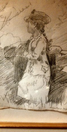 Winslow Homer drawing