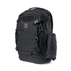 Phalanx Full Size Duty Pack + Helmet Carry (Intense Black)