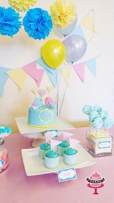 Love bird cake by Zeina's 💗💛