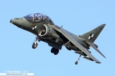 https://flic.kr/p/Cyxfzh | ZH653 - British Aerospace Harrier T12A - QinetiQ | My Website | My 500px | My Facebook Nine years ago today, this unique Harrier T12A is seen on approach to Boscombe Down, where it was being operated as a trials airframe. It apparently now resides at MCAS Cherry Point for spares recovery. Such a shame it was not preserved.