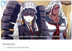 Haha, Celestia. And Sakura(Yes, she's a girl, hehe)