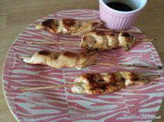 Brochetas de pollo con salsa yakitori #RecetasFáciles #RecetasdeCocina #Pollo #Brochetas #Yakitori #Teriyaki